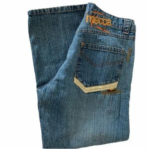 Mecca 1984 Relaxed Wide leg Jeans size 36x30